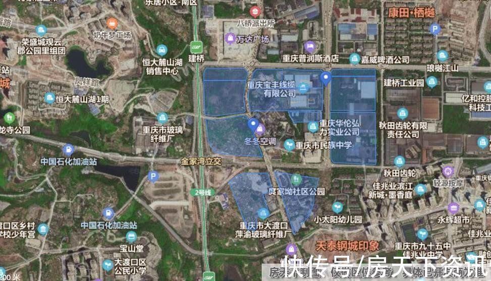 丹丹看房记:龙湖首入大渡口,百万方TOD生活大城实探