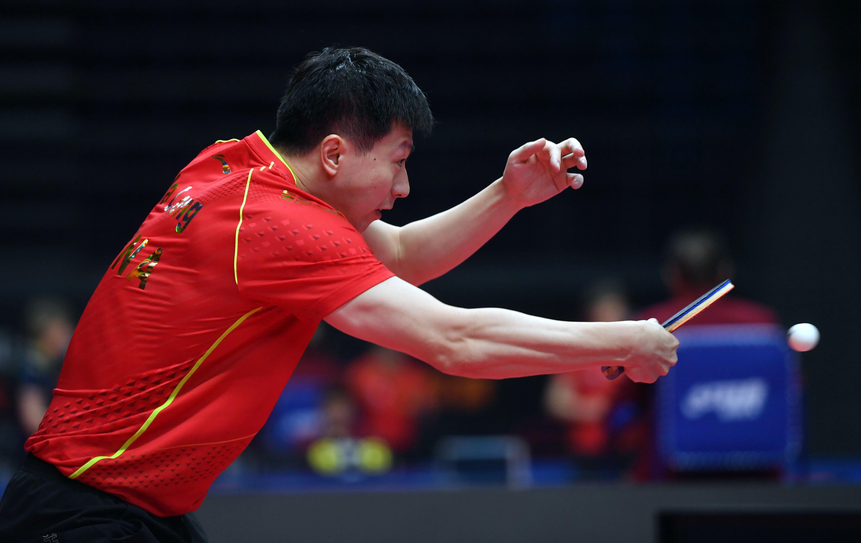 乒乓球——「直通WTT大滿貫·世乒賽」:馬龍勝薛飛