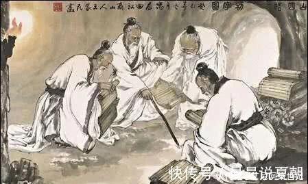 """刘盈 """"商山四皓""""是什么人,为什么刘邦一见到他们,就不再废太子了?"""