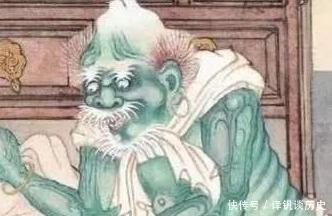 故事|一张聊斋女鬼画像,清朝无名画师所画,放大8倍后不敢看