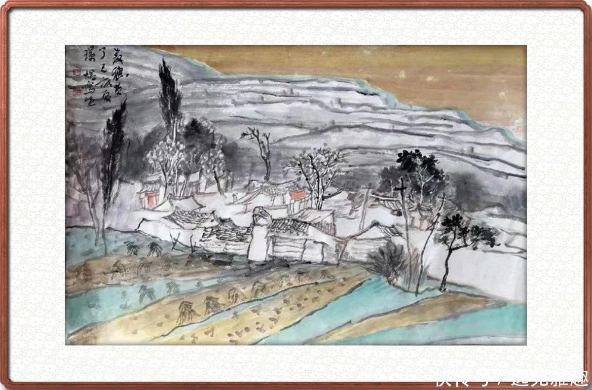 【画作美图】中国美术家协会员张璟煜庄浪写生画作欣赏