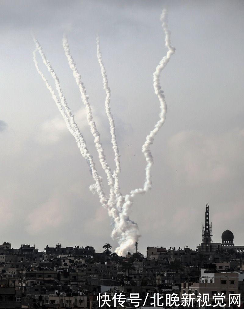 哈馬斯,向以中南部發動新一輪火箭彈襲擊