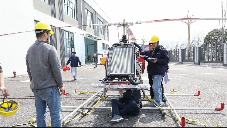 彌補產業空白  杭州首架無人直升機樣機從建德航空小鎮誕生
