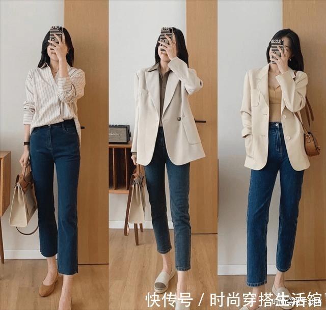 裤装|阔腿裤不受宠了,今年流行的3条裤子长这样,穿上显高显瘦提气质