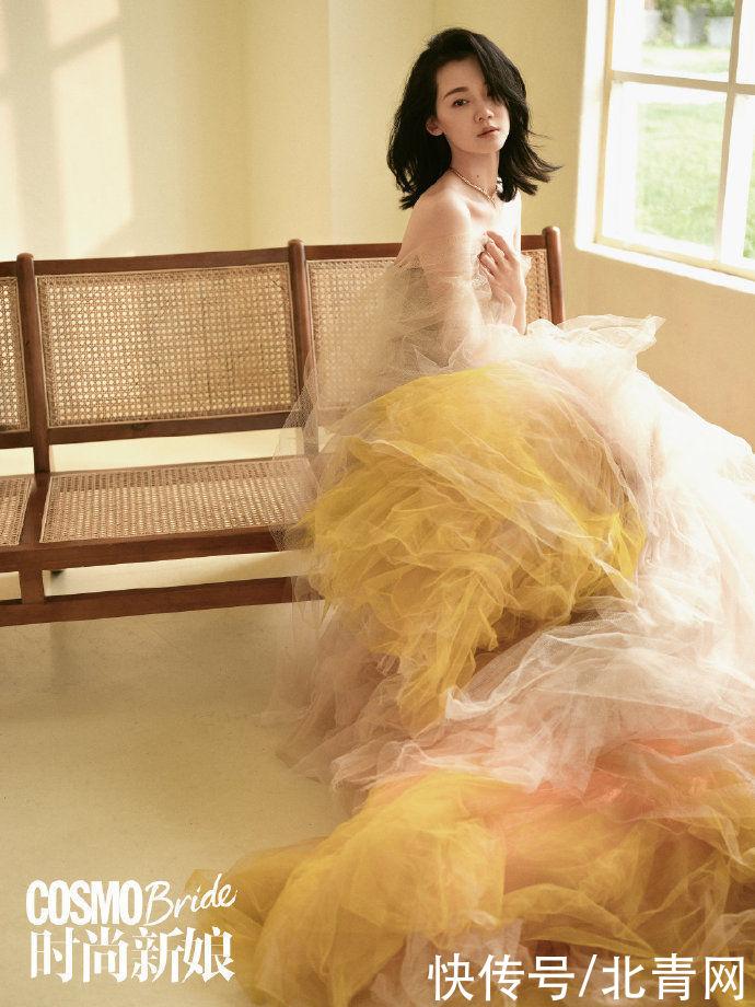 苗苗產後首拍婚紗大片 老公鄭愷:是迪士尼在逃公主吧