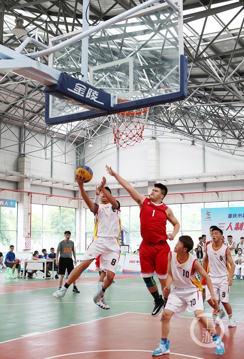 北碚隊奪得重慶市六屆殘運會三人制聾人籃球比賽冠軍