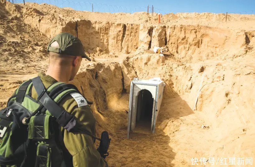 哈马斯地下隧道遭以军空袭,被摧毁达15公里 美媒解密:该系统隐秘、庞大且复杂