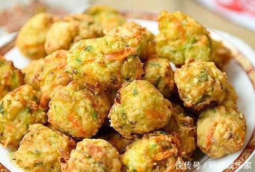 炸蘿蔔丸子,不要只放麵粉,多加一個料,丸子更酥脆,太實用了