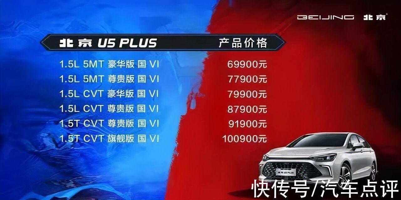 北京U5,PLUS起售价6。99万元,这次能否雄起?