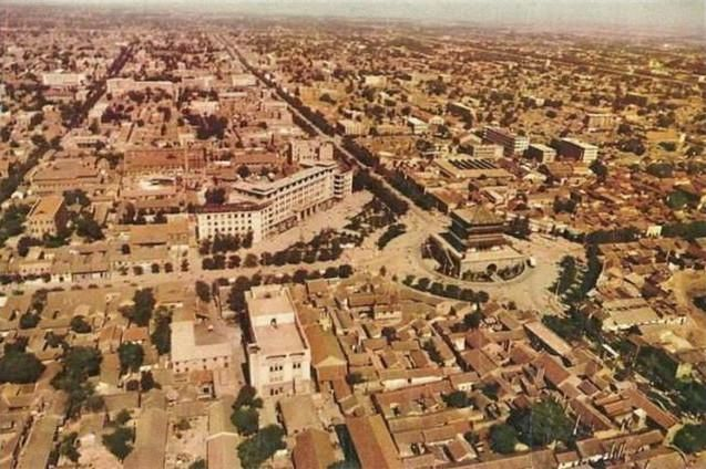 老照片:70年代的西安,看那時這里的古城時光