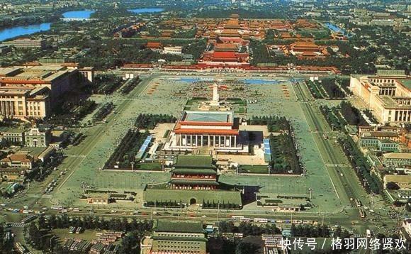 清朝时期的天安门广场和我们现在看到的不一样