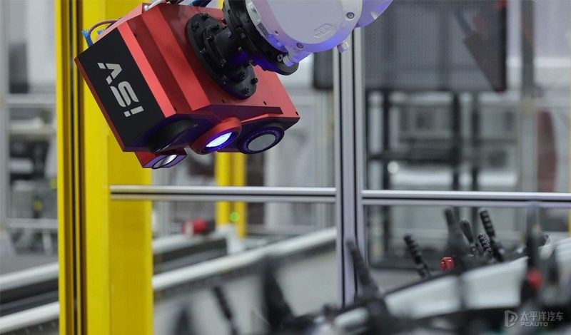 冲压 实现黑灯状态下自动化生产 探访吉利CMA西安工厂