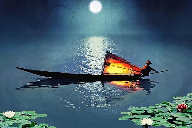"""【草丁图书馆】""""江枫渔火对愁眠""""这句诗,究竟哪里有问题,为何千年来争议不止"""