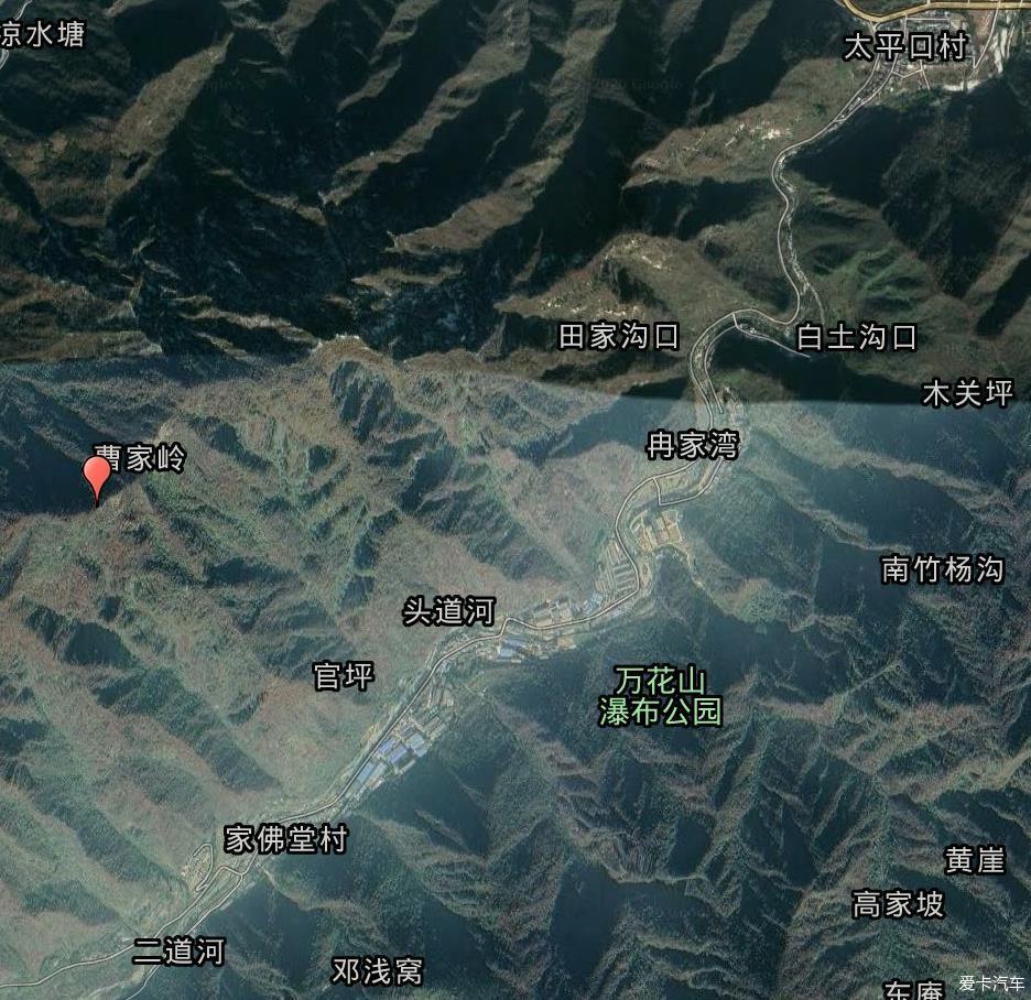 太平峪 圭峰山游记