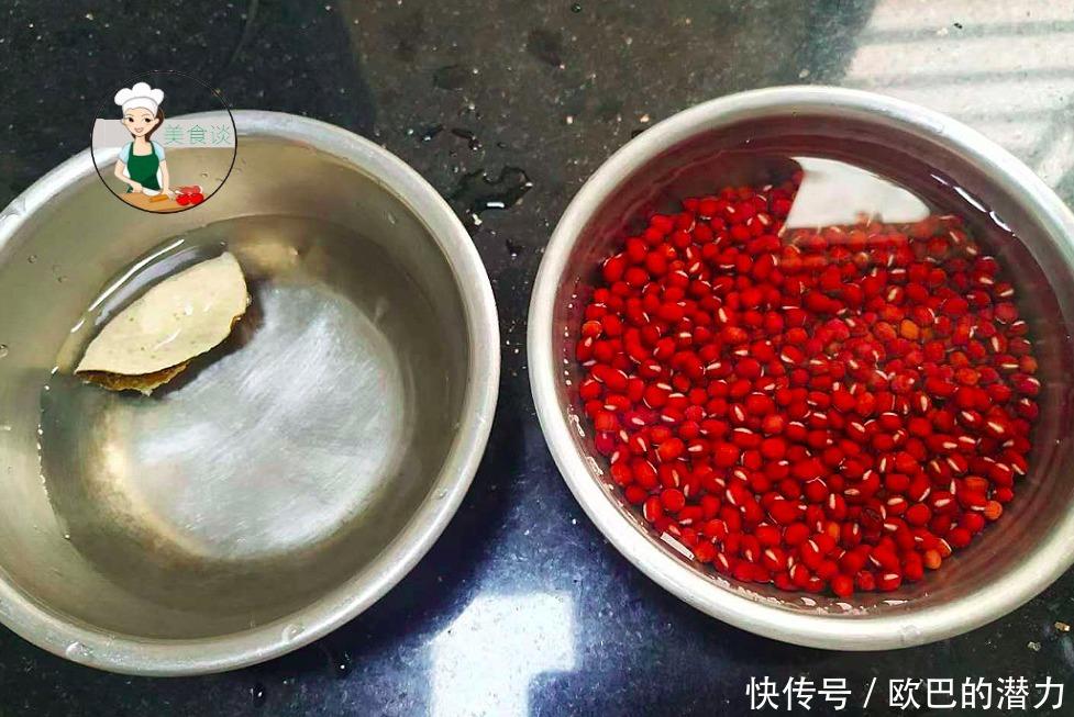 紅豆和此很相配,煮一鍋粉糯甘甜,每周吃2次,減肥消腫促進消化