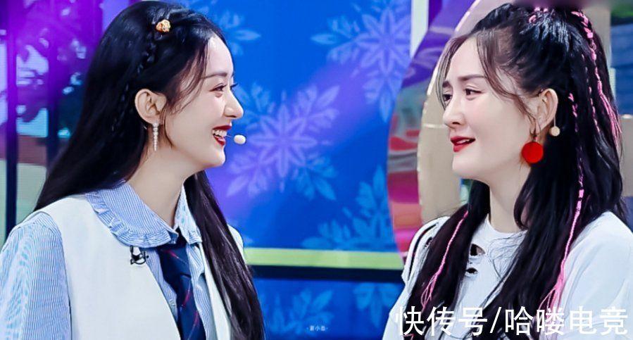 谢娜|赵丽颖为谢娜上《快本》,迪丽热巴给杨幂庆生,好友情从来不靠秀