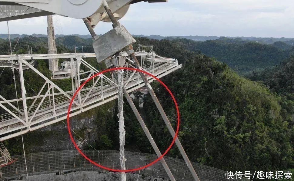 磨损|又一根电缆出现磨损,局部已断裂,待拆解的阿雷西博有什么发现?