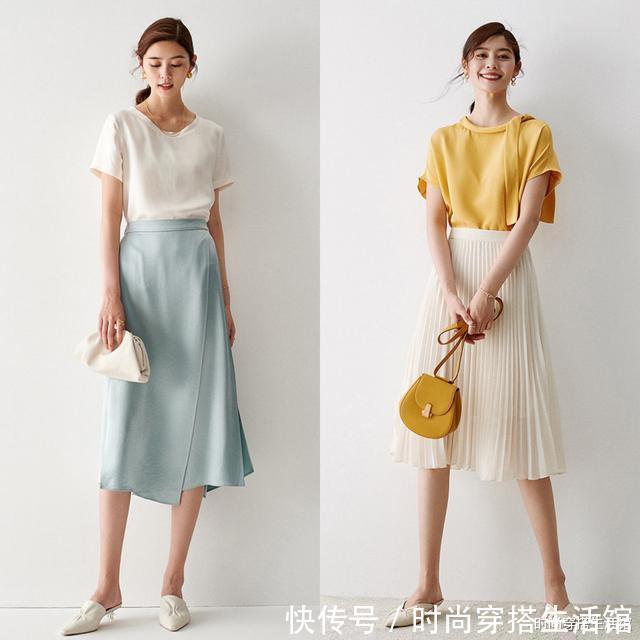百褶裙怎麼搭配好看?這樣穿既時髦又有氣質
