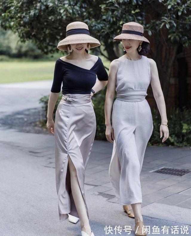 暑期度假怎麼穿才時髦上照?跟三木母女這樣穿,每套都值得照搬
