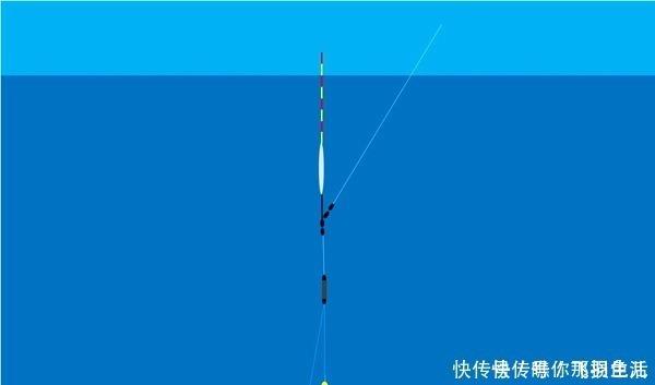 """理论 调漂中的""""奇葩""""理论:鱼钩跟铅坠的横向距离,影响调漂的灵敏度"""