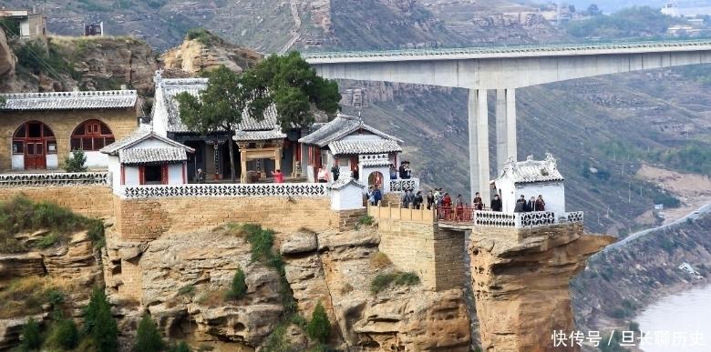 """陕西香炉寺:被称为陕北的""""小蓬莱""""风景美轮美奂,令人心驰神往"""