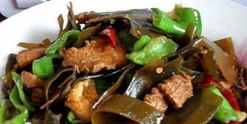 炒海帶加一寶,多給孩子吃,排毒素,清垃圾,調理腸胃,長高個