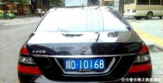 車牌隻要出現這兩個字母,價值翻10倍,跑高速還不花錢