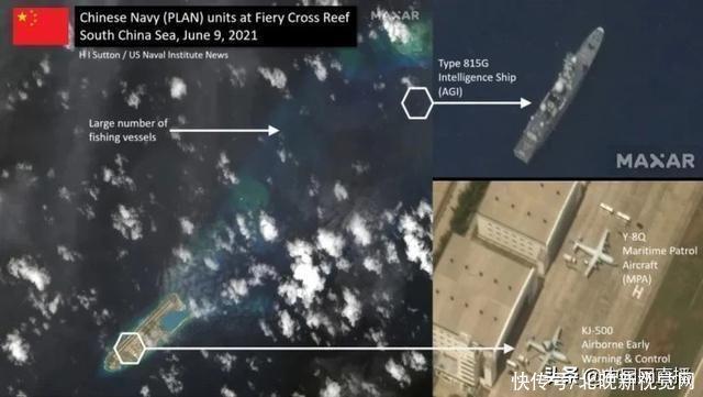 呵!解放軍三款新式裝備現身南海永暑礁,美國立馬拿衛星圖挑釁
