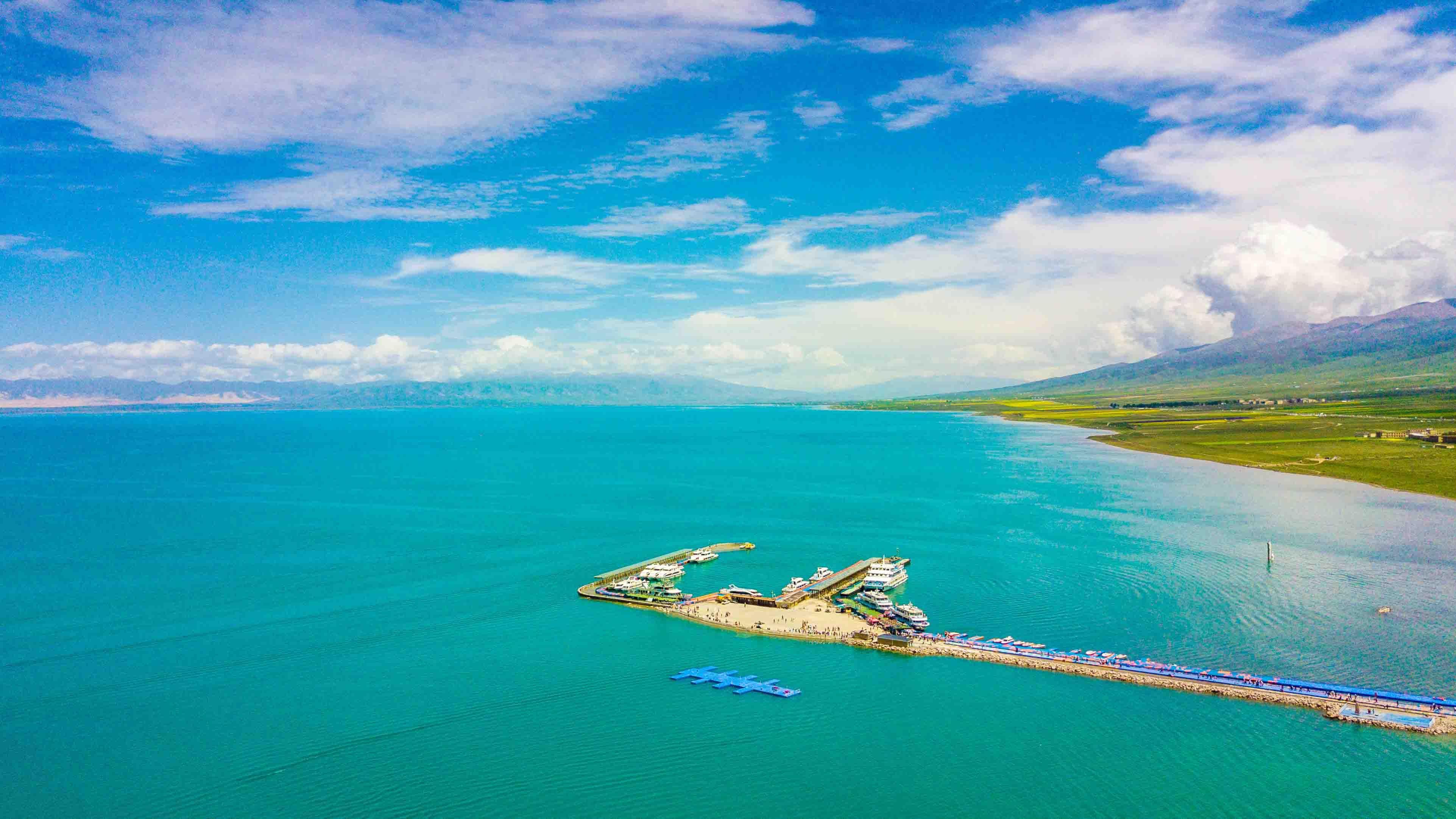 最美|实拍中国最美的湖泊之一,一生必须要去的地方,感受它独特的美丽