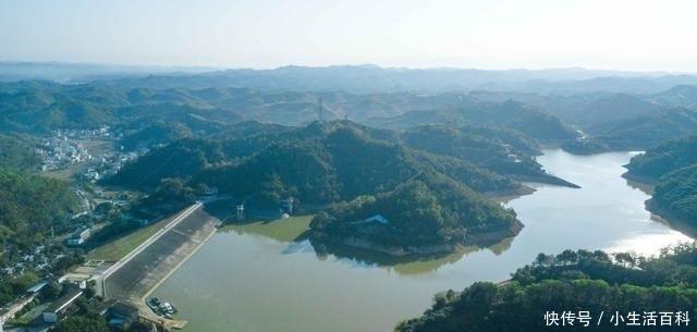 梅州有個超美的孤島,被譽為廣東版「千島湖」,航拍的風景美爆了