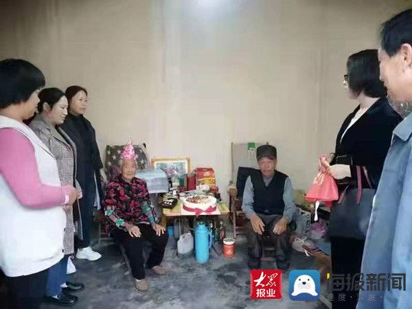 失独老人 惠民县姜楼镇为失独老人过生日 送真情暖人心