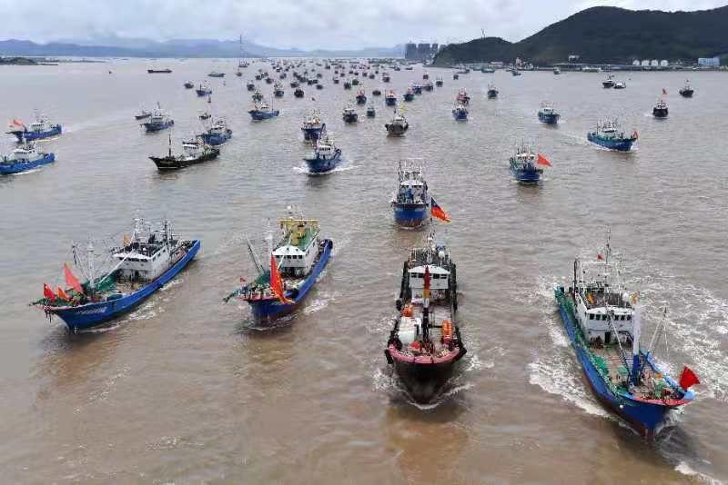 """強化部門合作 """"商漁共治2021""""專項行動在浙江舟山啟動"""