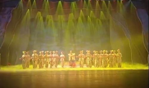 《牡丹传奇》成功首演,鄄城商羊舞受邀参演