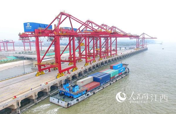 江西九江红光国际港正式开港运营