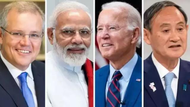 """""""聯手""""對抗中國,美國拉攏四國舉行首次峰會,但印度有個擔心"""