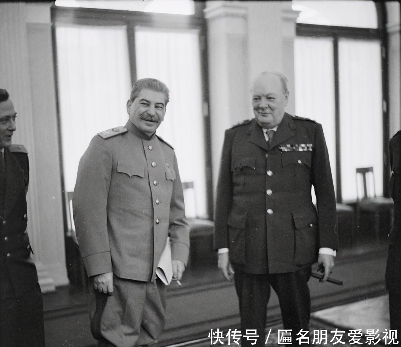 拜会|老照片:冬奥会上希特勒,被捕的萨达姆,丘吉尔访苏拜会斯大林