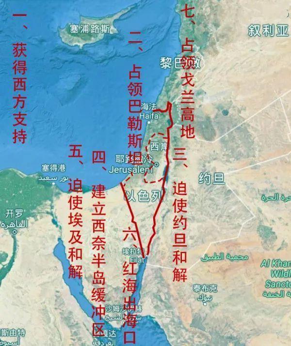 阿拉伯国家|激战中东四:阿以第三次中东战争
