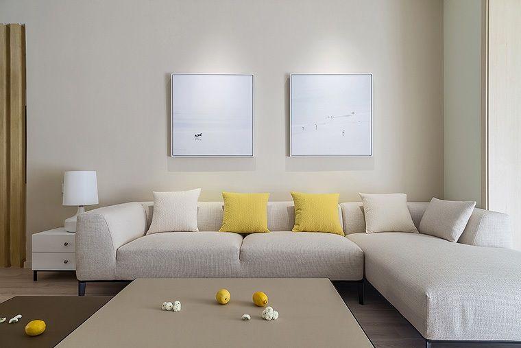 空间 110平米房子简约风装修,融入各种经典装修元素,三居室美翻了