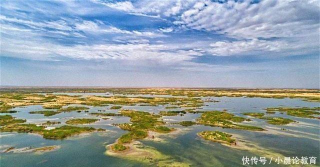 中国将黄河水引入沙漠中,发生神奇的一幕,美国直呼:怎么可能