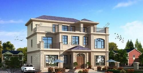 X15|宅基地比较大,16X15米,想修三层,中空大厅,怎样设计好看又好用?