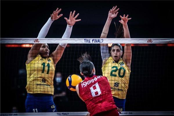 巴西、美國攜手晉級世界女排聯賽決賽