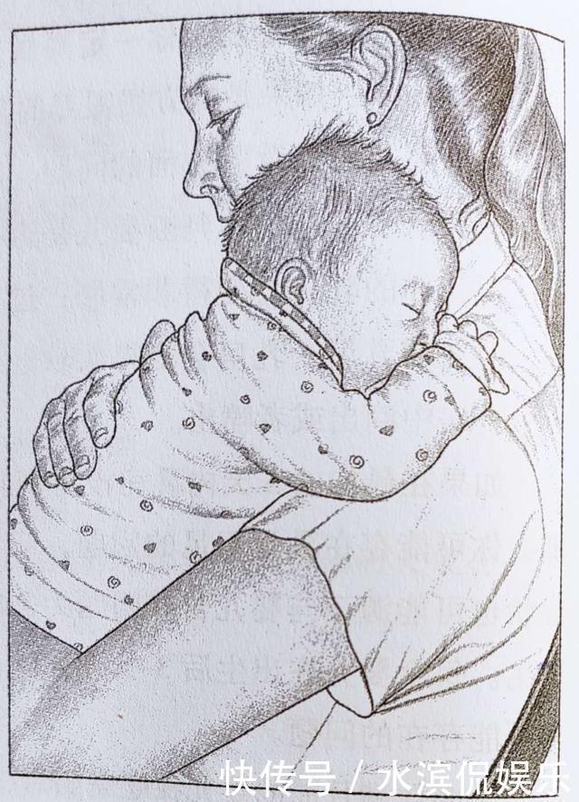 新手爸爸抱娃抱出了送炸弹、偷地雷的感觉,网友这娃烫手