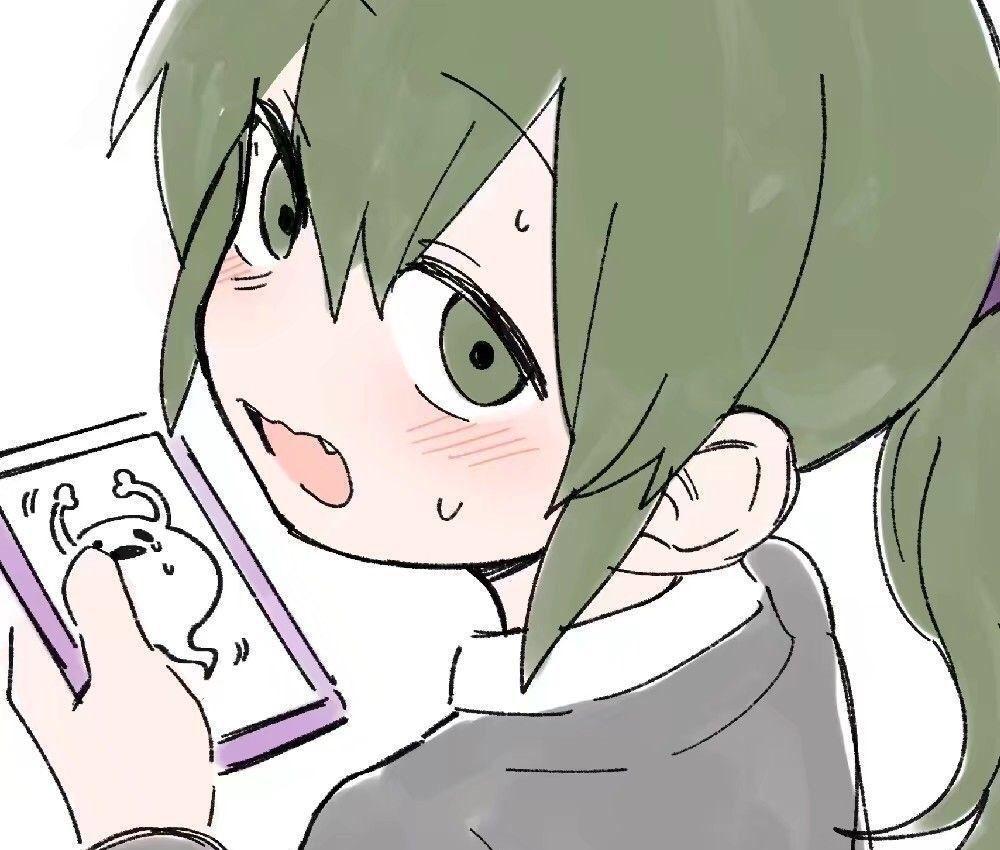 招桃花可爱动漫女生头像十一