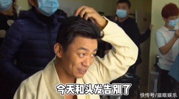 王宝强新戏花絮超搞笑,剃头自嘲像老头,教小孩勇敢自己却胆小?