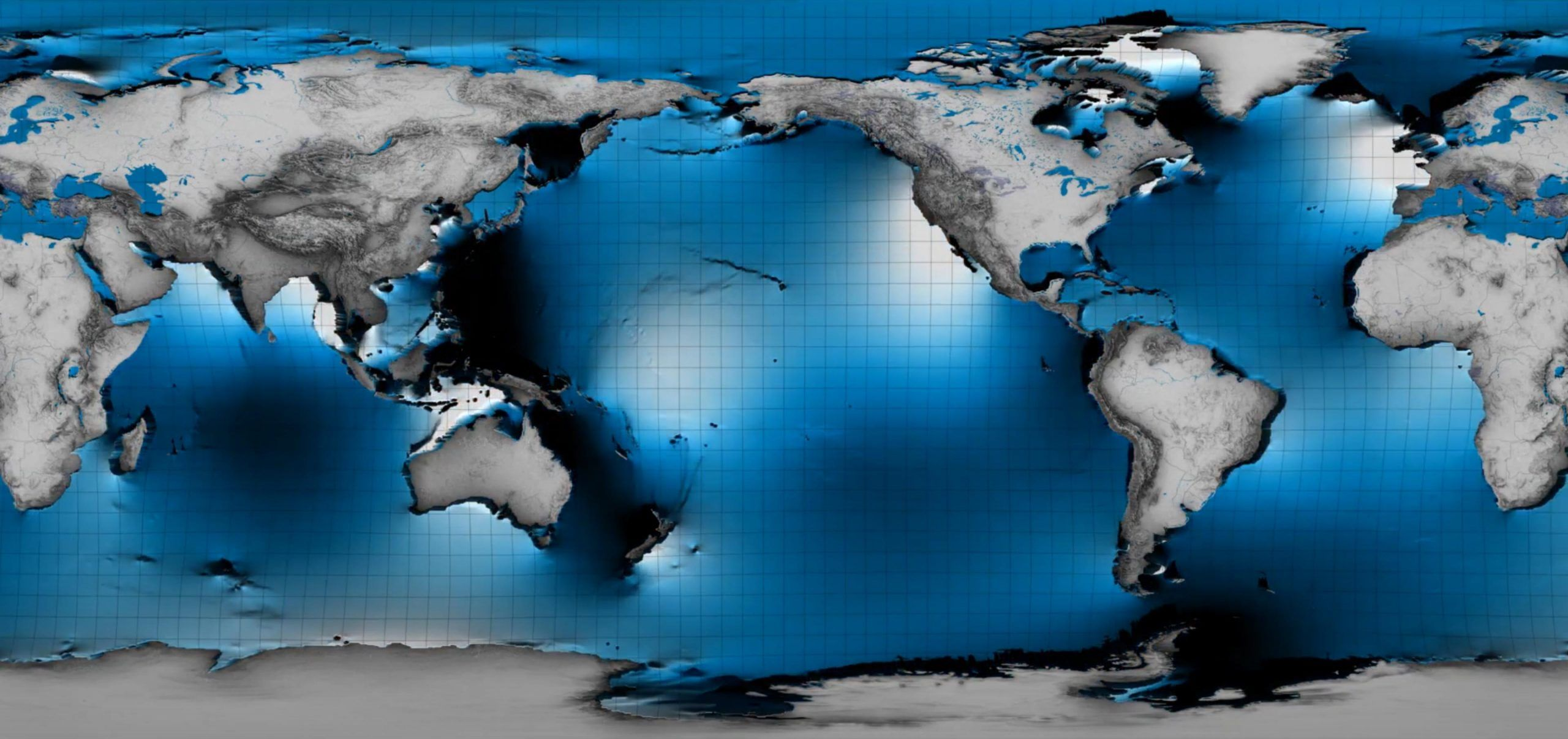 NASA用衛星感知到瞭海洋表面下的潮汐