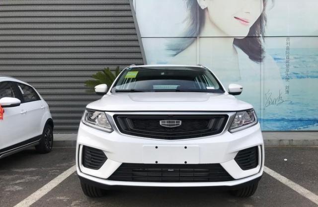 博越太貴繽越太小,這車正合適全系1.4T+獨懸,6.89萬可入手