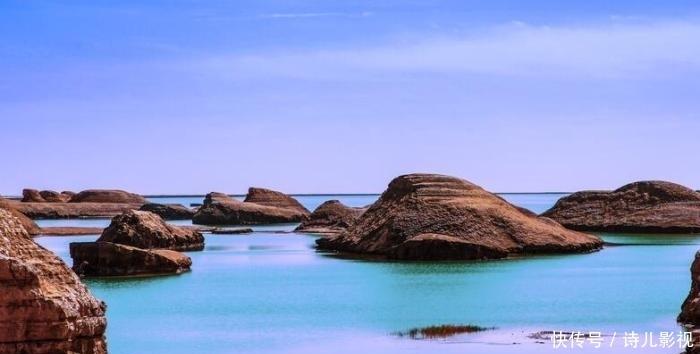 青海的这个地方你去过吗?它是水上的雅丹,又一个网红打卡圣地