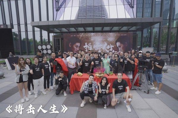 演员王君君跨界幕后 电影《搏击人生》重庆开机