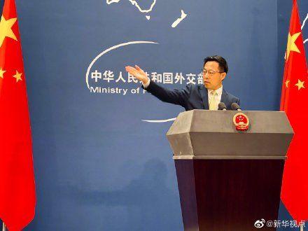 趙立堅說日方應慎重決策福島核污水處理方案