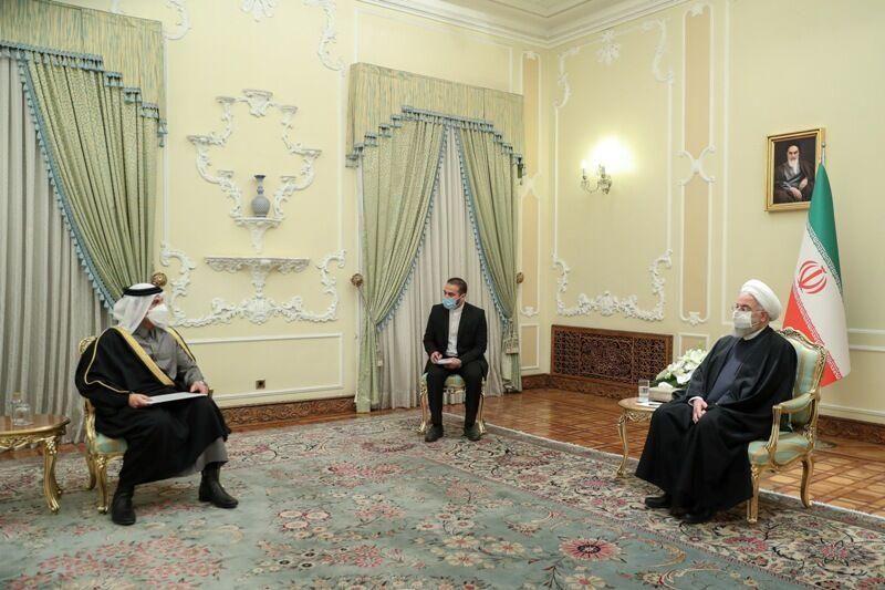 伊朗总统会见卡塔尔外交大臣 卡方表示愿协调伊美重返伊核协议